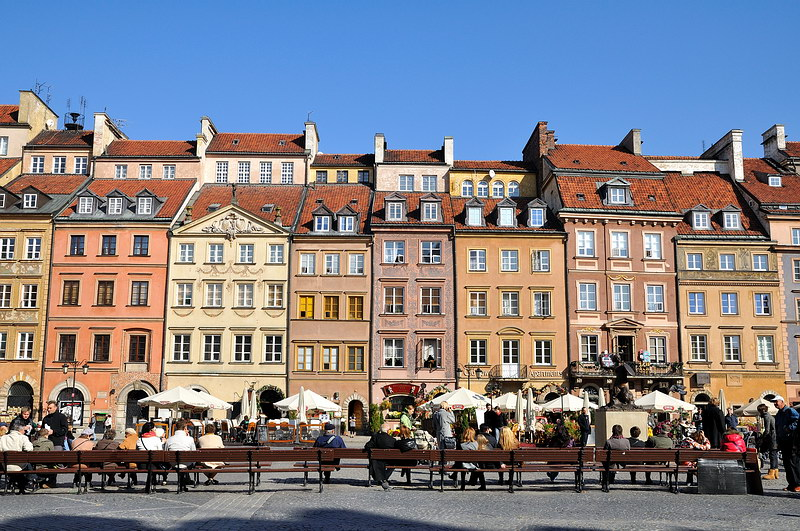 old town 800x531 - THE ULTIMATE GUIDE TO TRAVEL TO POLAND ON A BUDGET; PART 2 - WARSAW