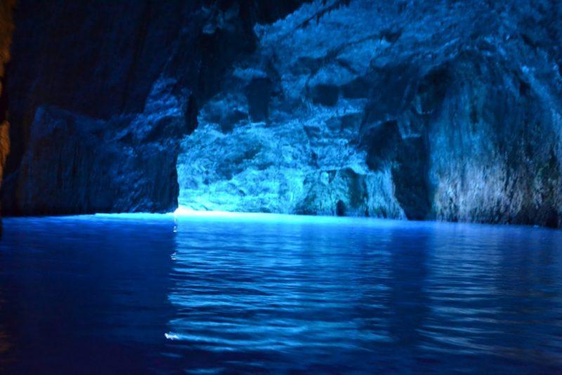 "blue cave 1 800x534 - TOP 10 ""UNIQUE"" SMALL GREEK ISLANDS WORTH VISITING"