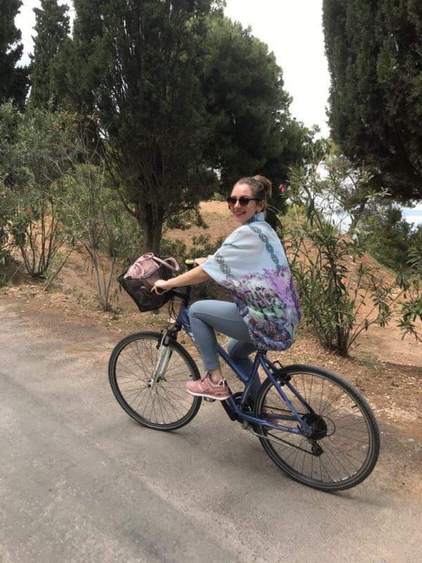 "spetses bike 600x800 - TOP 10 ""UNIQUE"" SMALL GREEK ISLANDS WORTH VISITING"