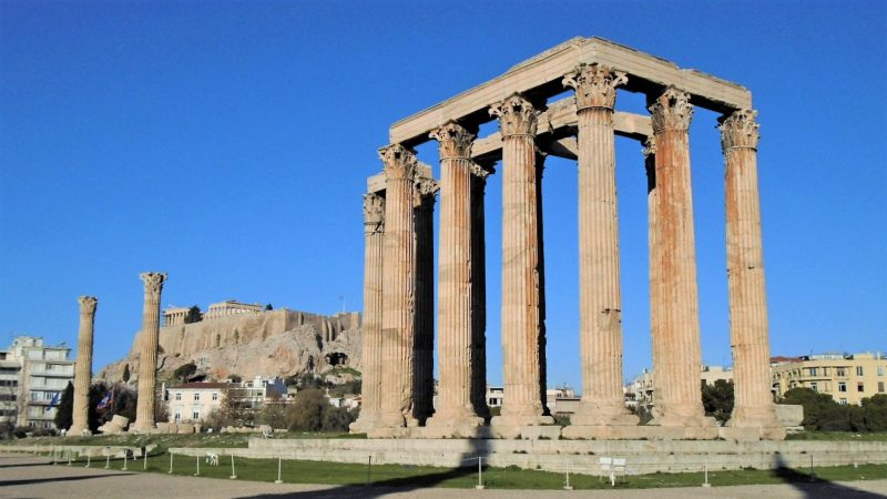 Temple of Olympian Zeus 800x450 - TOP THINGS TO DO IN ATHENS
