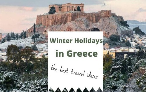 winter holidays in Greece