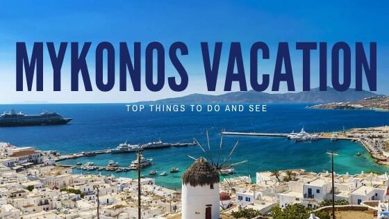 mykonos vacation