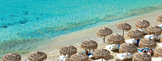 psarou beach mykonos - Mykonos vacation: top things to do and see