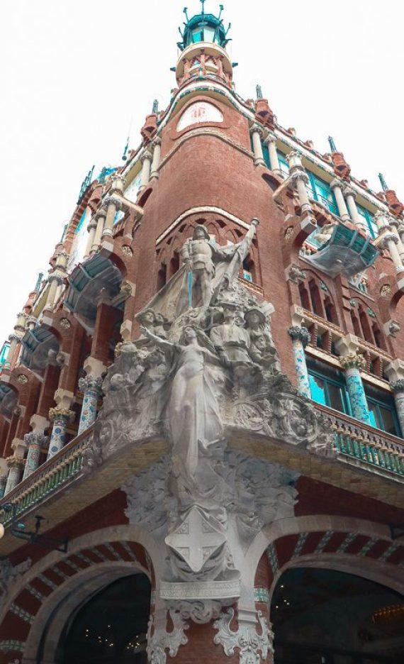 Palace of Catalan music.