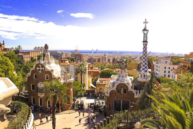 3 days in Barcelona - Park Guell