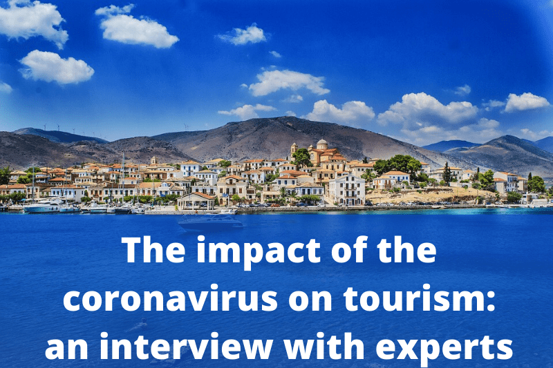 The impact of the coronavirus on tourism  an interview with experts - Coronavirus impact on tourism: experts opinion