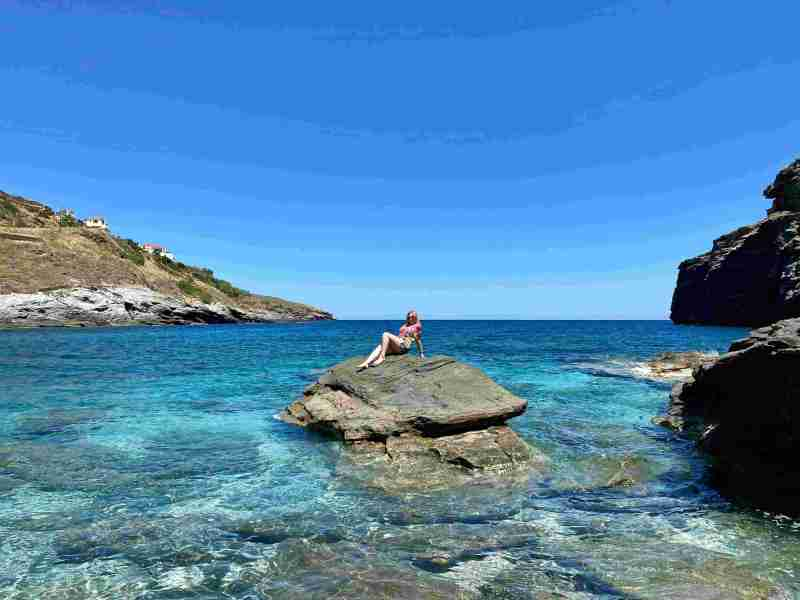 andros beach 800x600 - 7 Top Reasons To Visit Andros Island In Greece