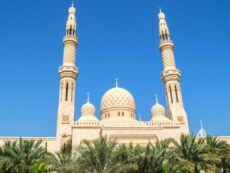 Jumeirah mosque 1 - Best Things to do in Dubai