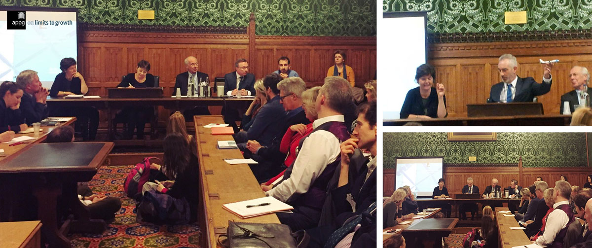 End of Growth? House of Commons debate w/ Federico Demaria, Graeme Maxton, Jørgen Randers and Kate Raworth. Chaired by Tim Jackson and Caroline Lucas
