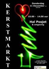 affiche kerstmarkt 2014