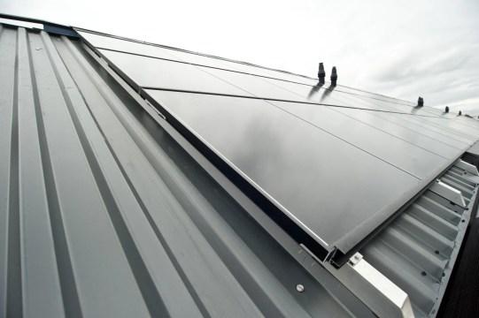 Foto Energie-dak Balije en Populierweg Maastricht