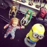 Gremlins, Chucky, Big Red, Minion