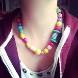 Necklace Wearing