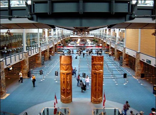 Inside Vancouver Airport image