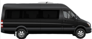 14 passenger mercedes sprinter executive airport and transportation van photo