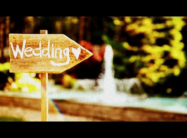 Image of a Wedding Sign