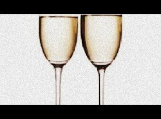 Image of Bachelorette Champange Glasses