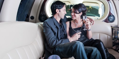 Couple-In-Limo-Image