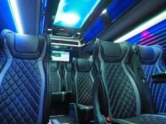 14 Passenger Mercedes Sprinter Van Image