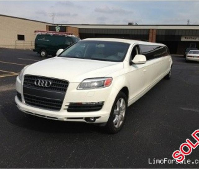 Used  Audi Q Suv Stretch Limo Signature Limousine Manufacturing Louisville Kentucky