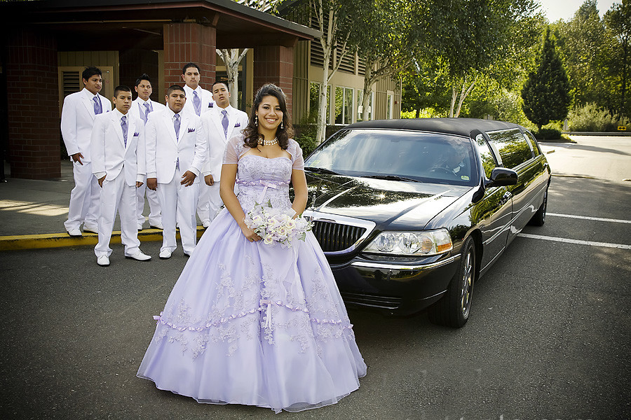 quinceanera party bus Limo Dallas fort worth dfw