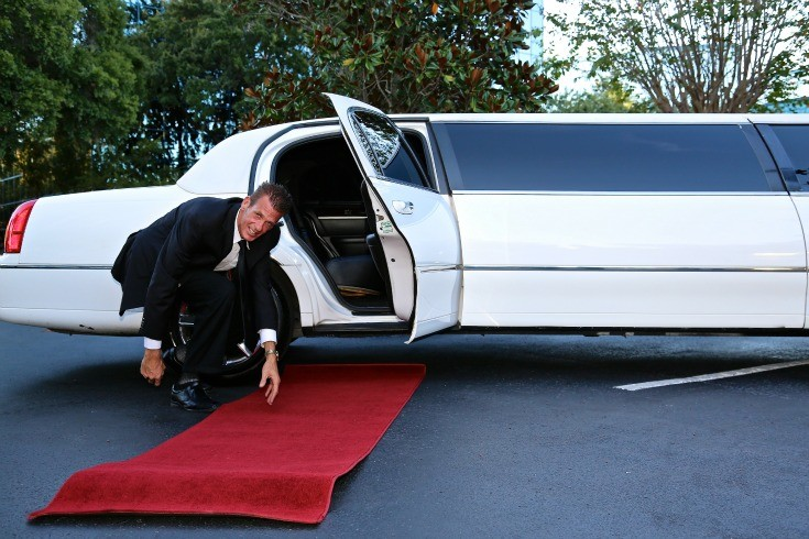 Red Carpet Wedding Limo Event Rental Service DFW Dallas Fort Worth
