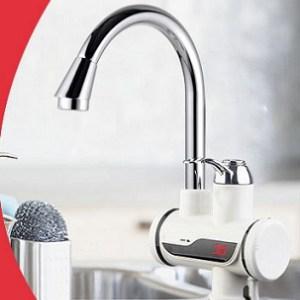מידות ברז מטבח חמם מים מיידי