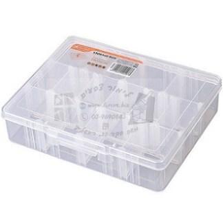 קופסת אחסון שקופה 14 תאים Tactix