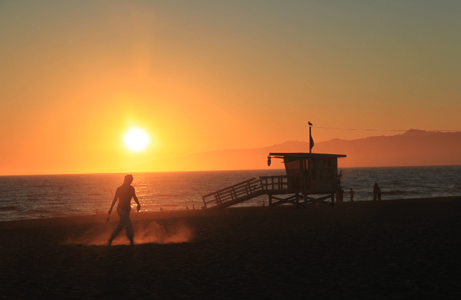 Southern California Beach Wedding Limo