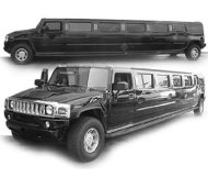 Black H2 Hummer Limo in Orange County, LA, San Diego, Riverside, San Bernardino