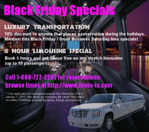 Black Friday Limo Deals
