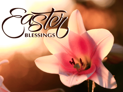 Happy Easter Day Southern California Friends and Family!