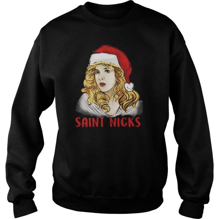 Saint Stevie Nicks Santa shirt
