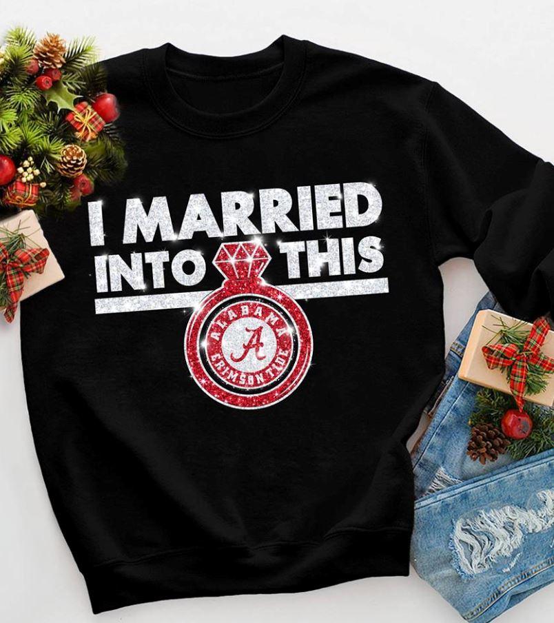 I married into this Alabama diamond ring shirt