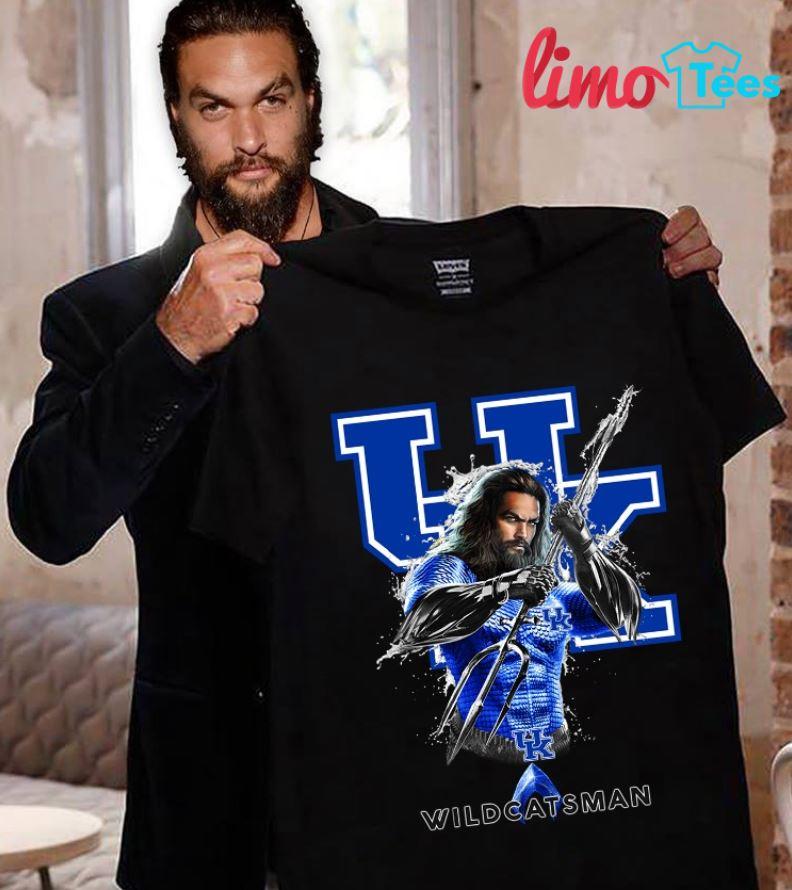 Aquaman Kentucky Wildcats man shirt