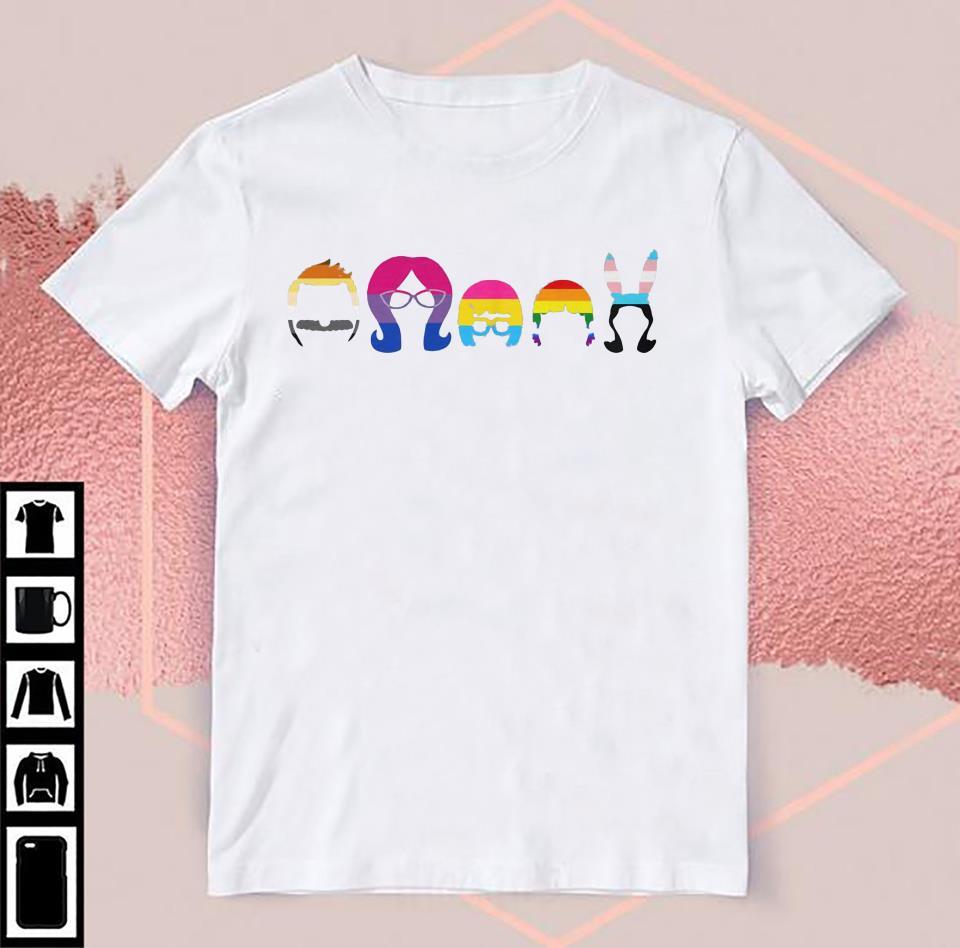 Bob's Burgers Pride t-shirt