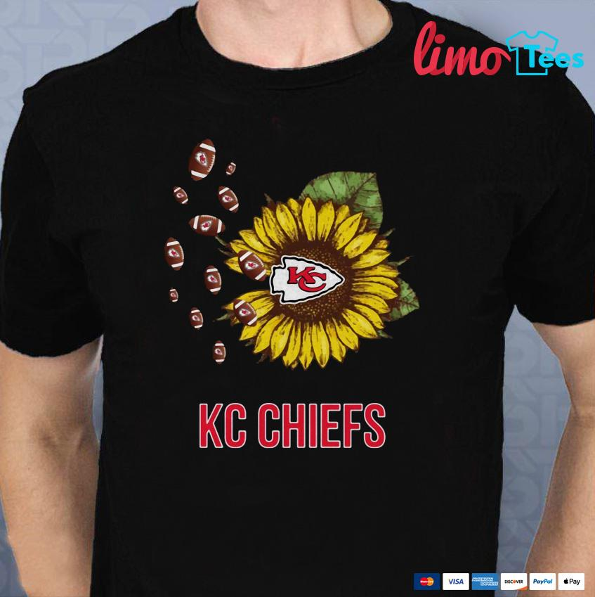 Kansas City Chiefs sunflower shirt