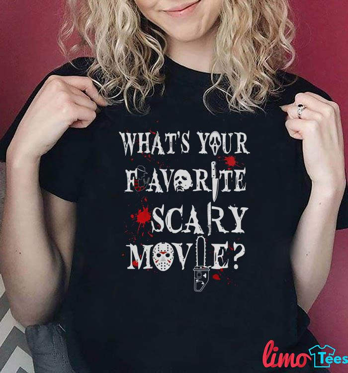 Michael Myers what's your favorite scary movie shirt
