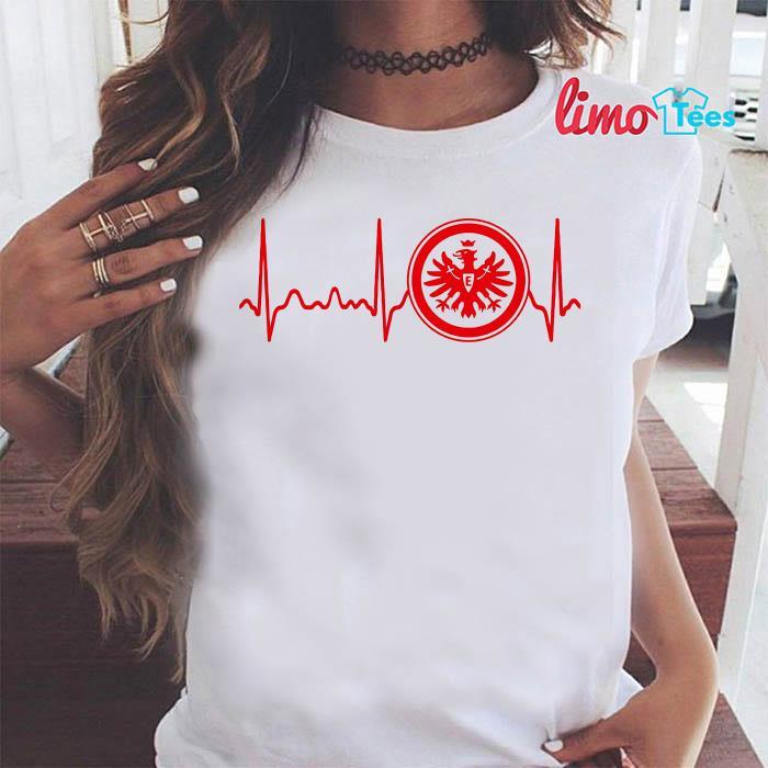 Eintracht Frankfurt heartbeat shirt