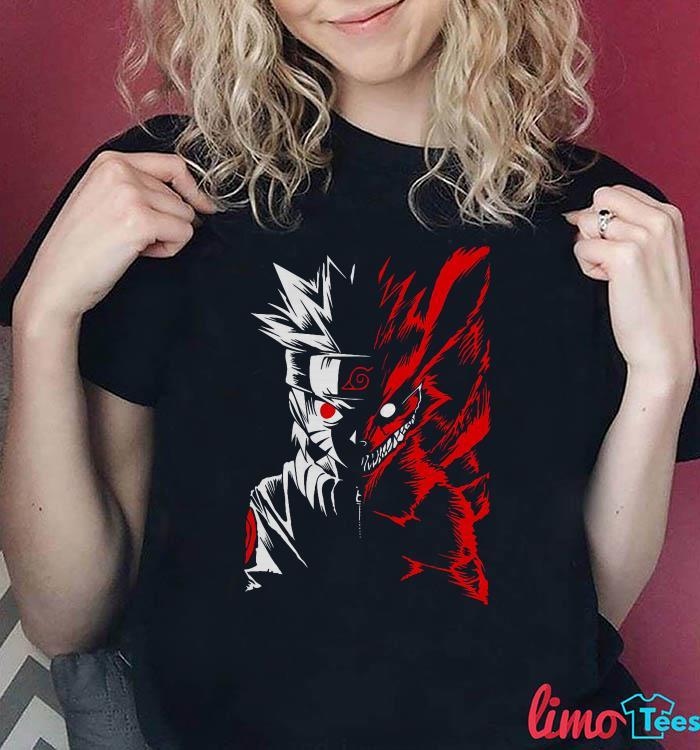 Hokage Naruto two face shirt