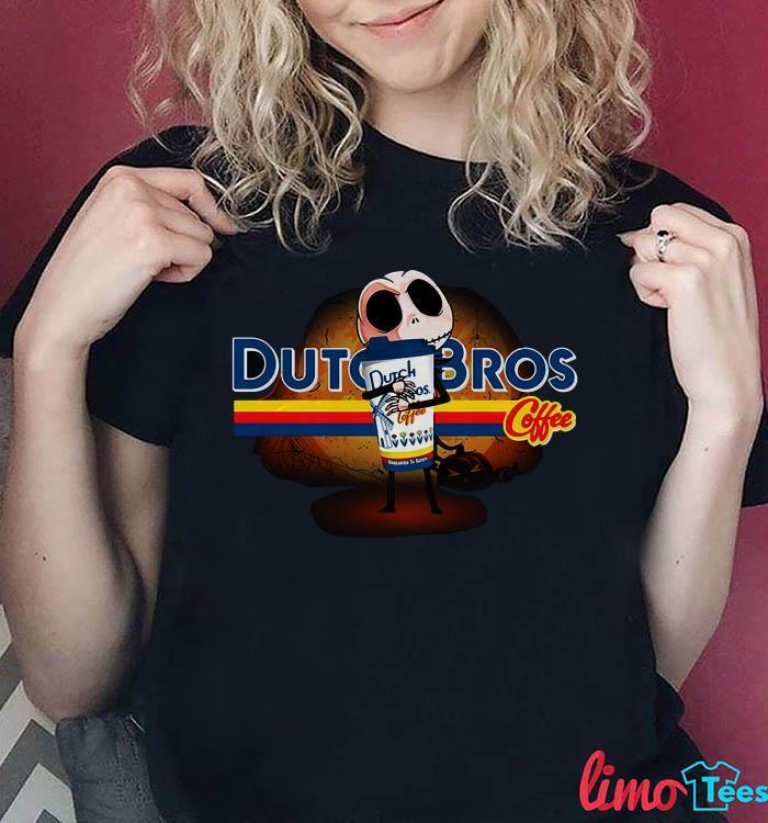Jack Skellington Dutchbros coffee shirt