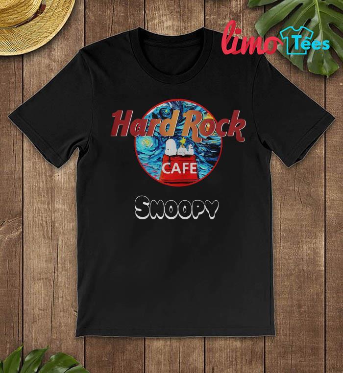 Hard Rock Cafe Snoopy shirt