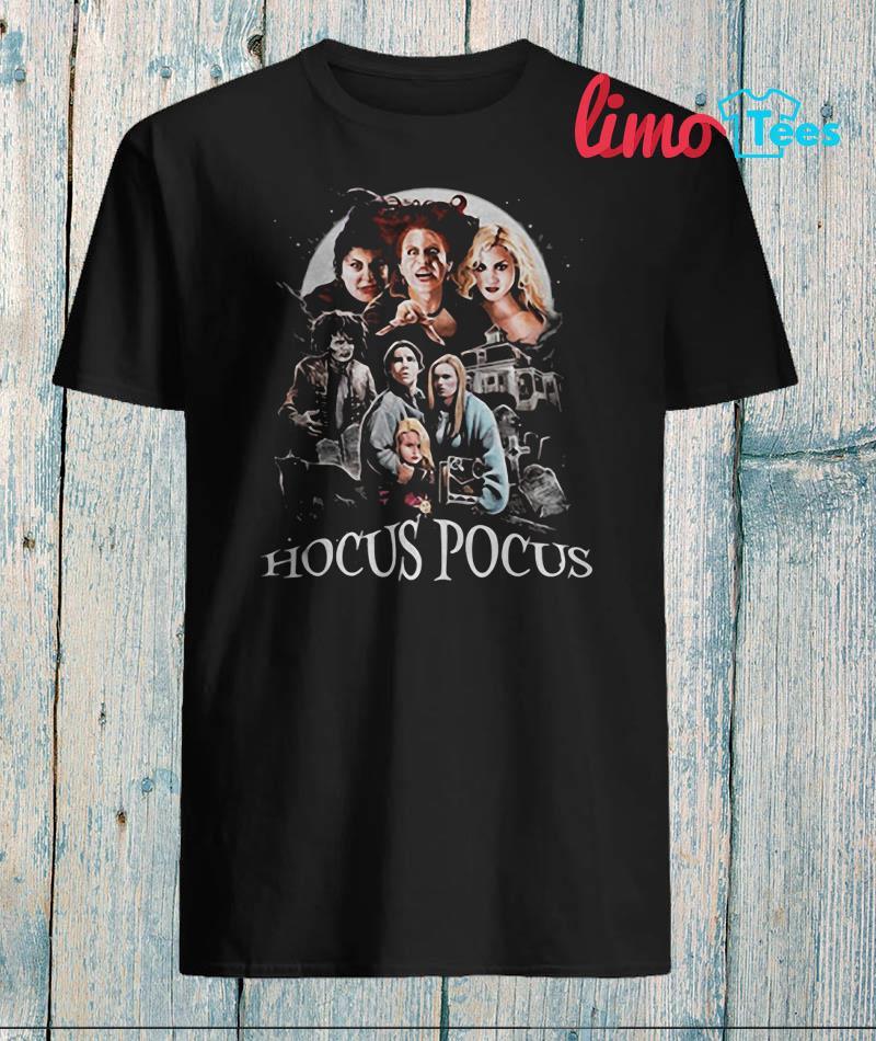 Hocus Pocus Sanderson Sisters Halloween 2019 shirt