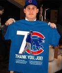Chicago Cubs thank you Joe Maddon Rumors unisex shirt