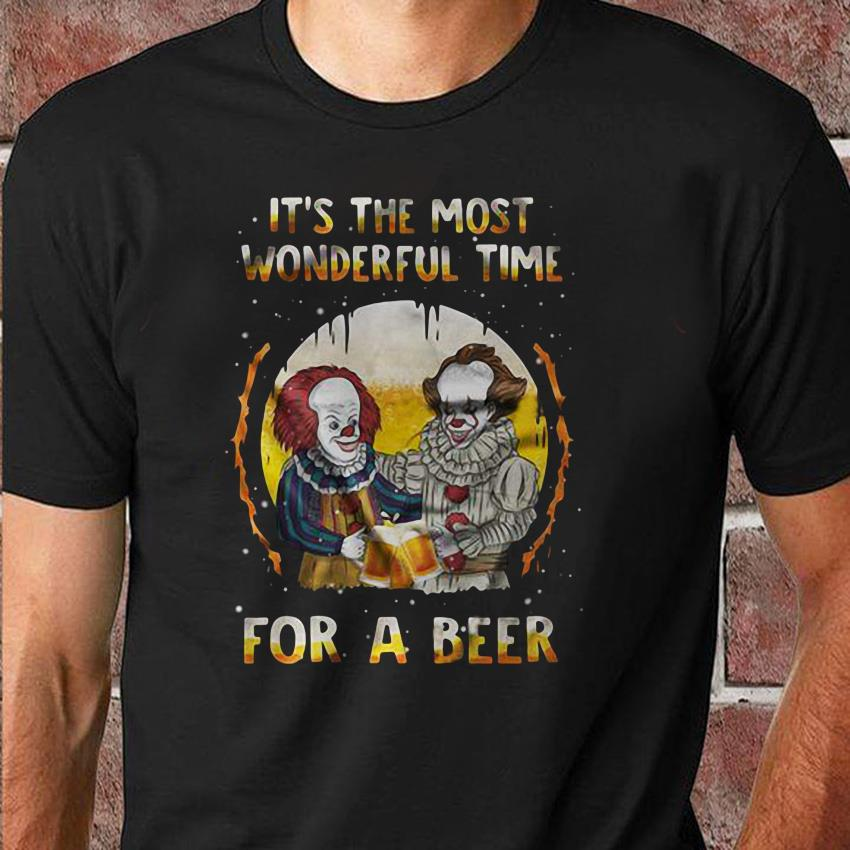 It's the most wonderful time for a beer pennywise shirt