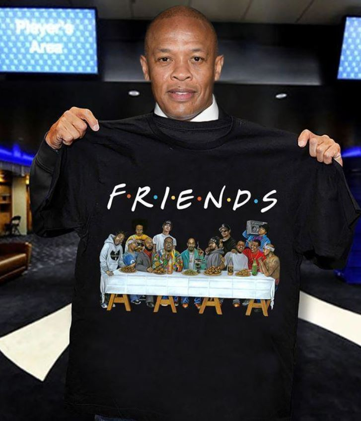 Wu tang clan friends the last supper t-shirt
