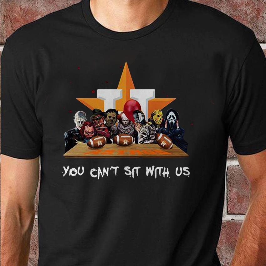 You can't sit with us Houston Astros halloween shirt