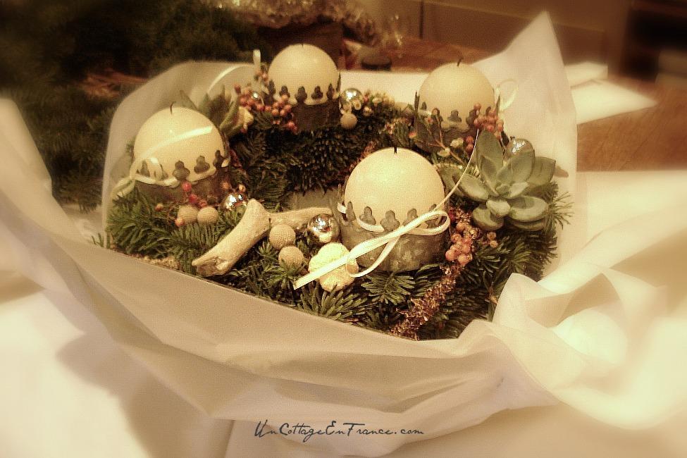 Couronne de Noel handmade