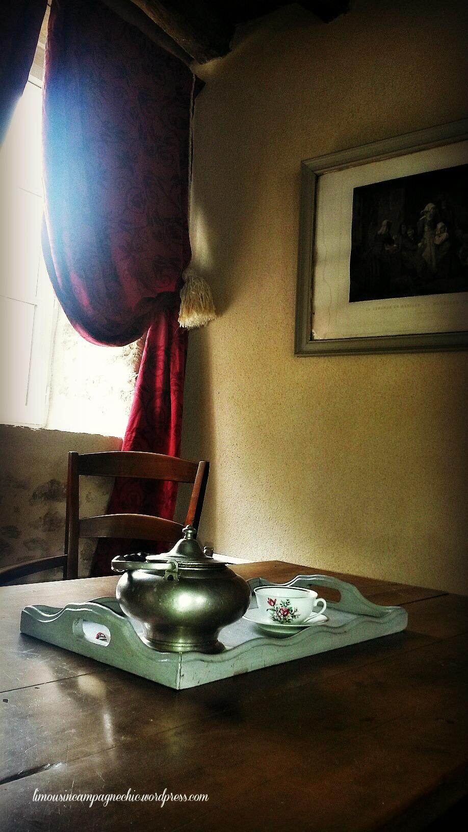 Prenons un thé - Let's take a tea