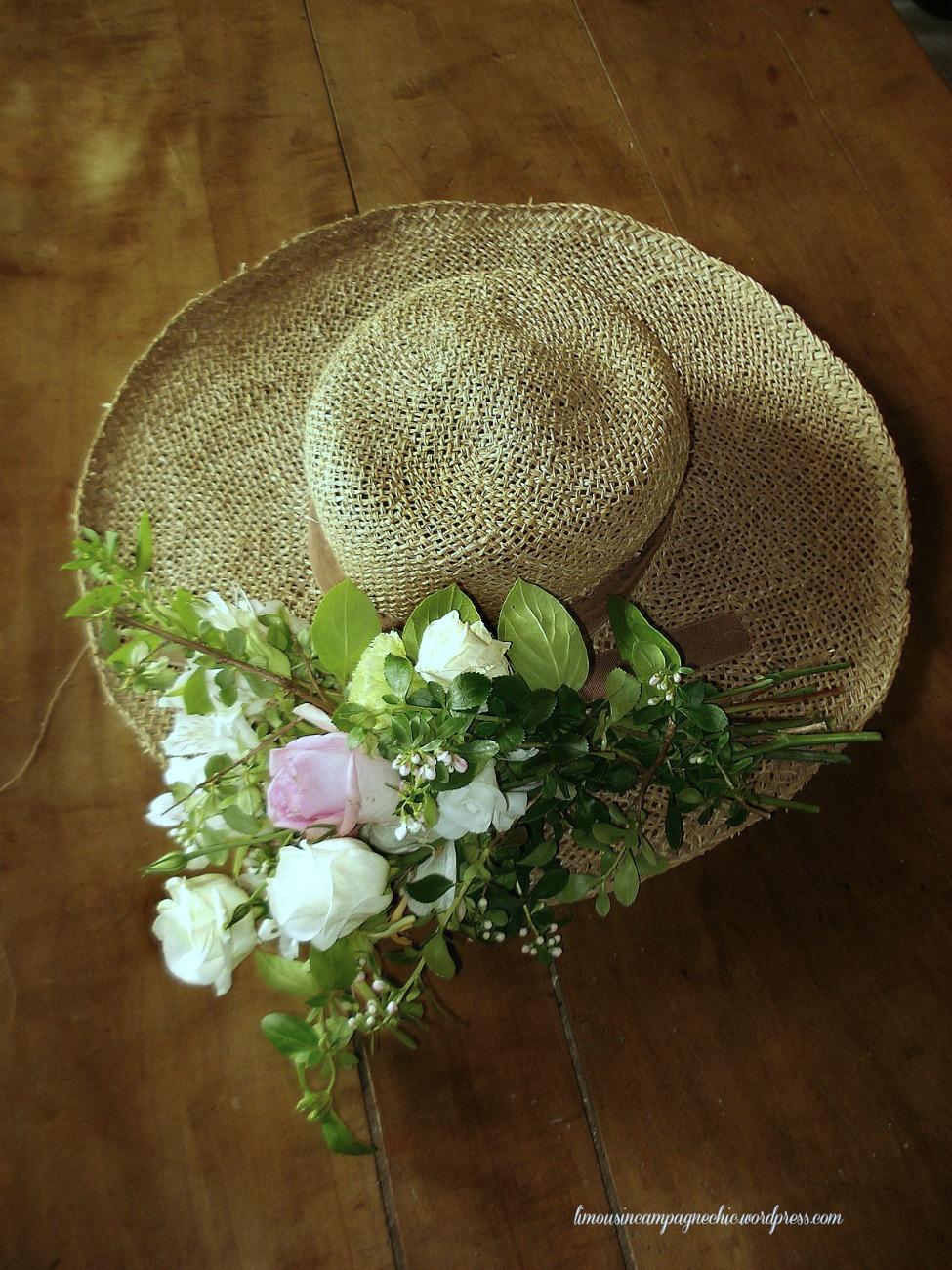 Chapeau bucolique - Bucolic hat